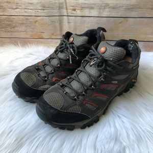 Men's Merrell Brown Hiking Athletic Shoes Sz 10